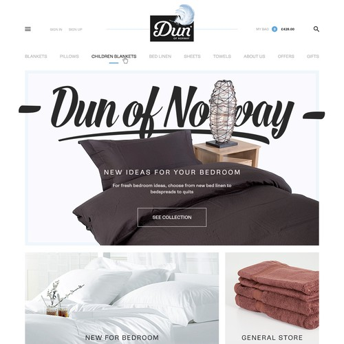 Create a simple, modern and bright webshop