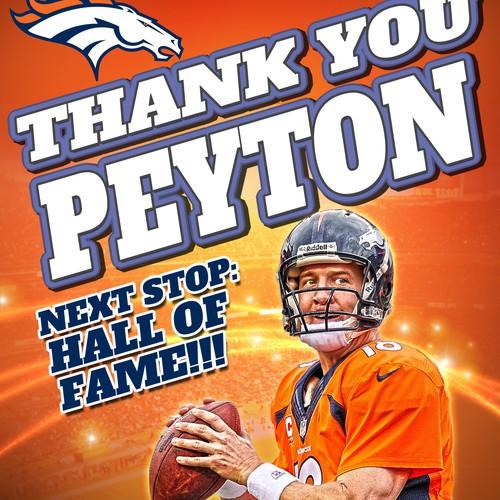 Peyton Poster