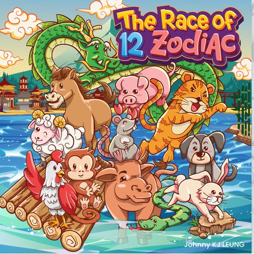 Book Cover: The Race of 12 Zodiac