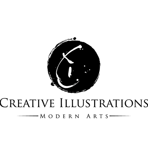 modern art logo