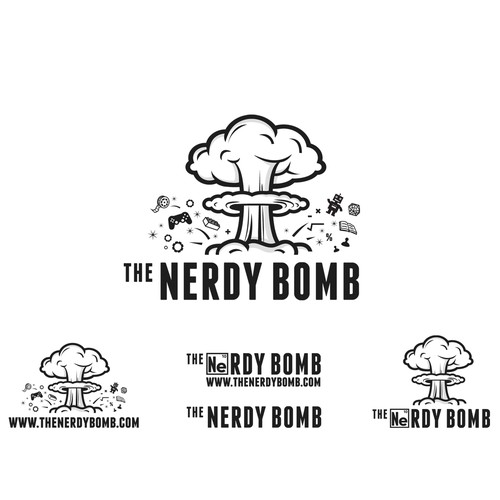 Logo For Nerdy Bomb