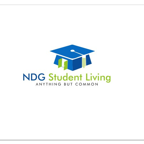Create an Anything But Common Logo for a Student Housing Developer/Manager