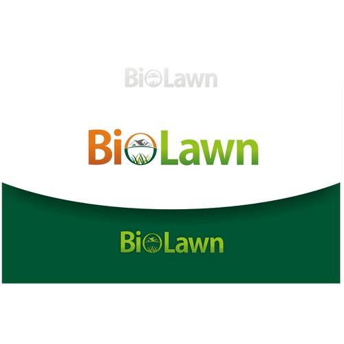 logo for BIO LAWN