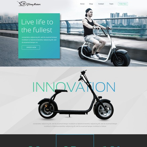 New Trend Electric Motorcycle in South America Chile