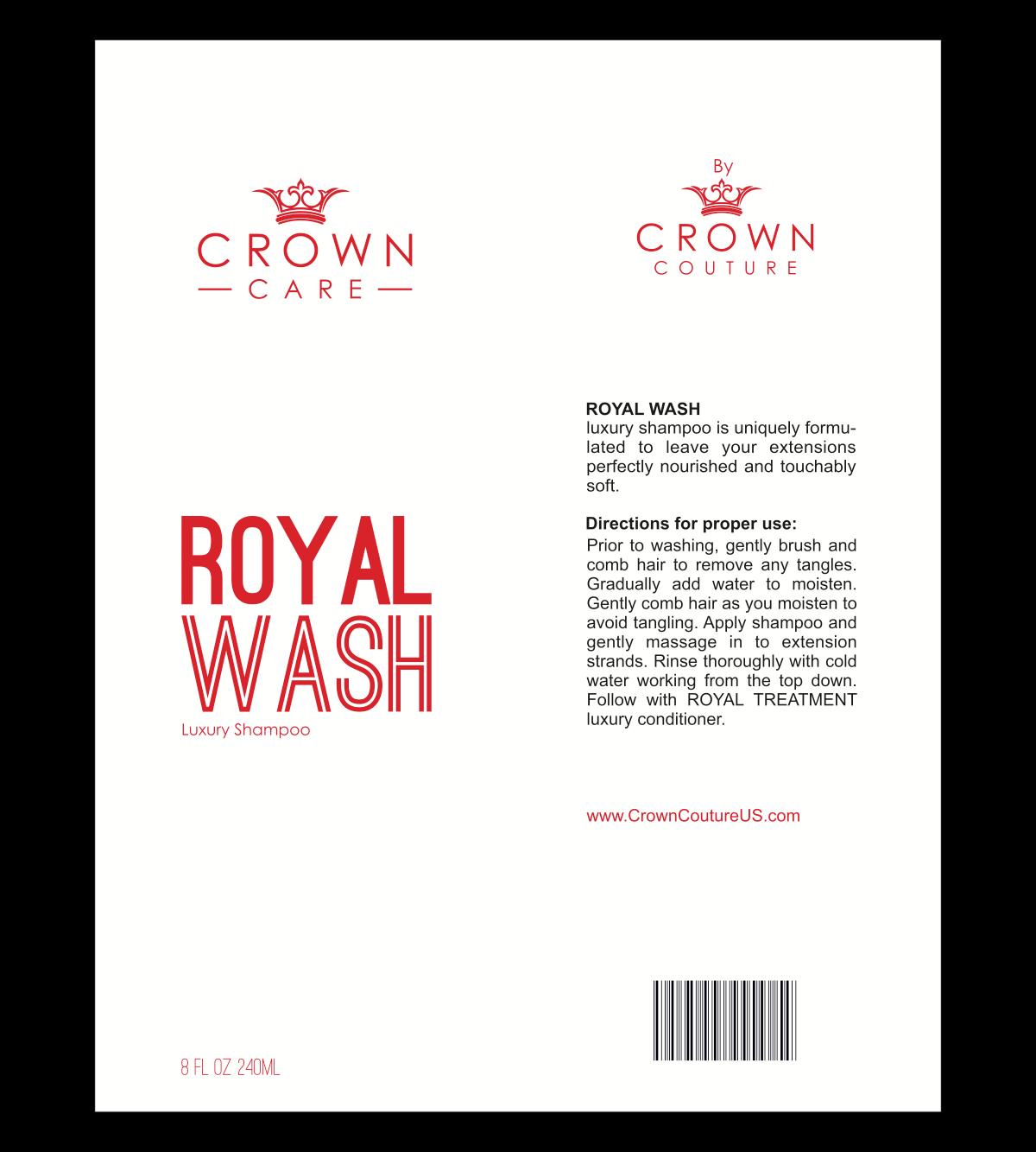 Crown Couture Nashville product line label changes
