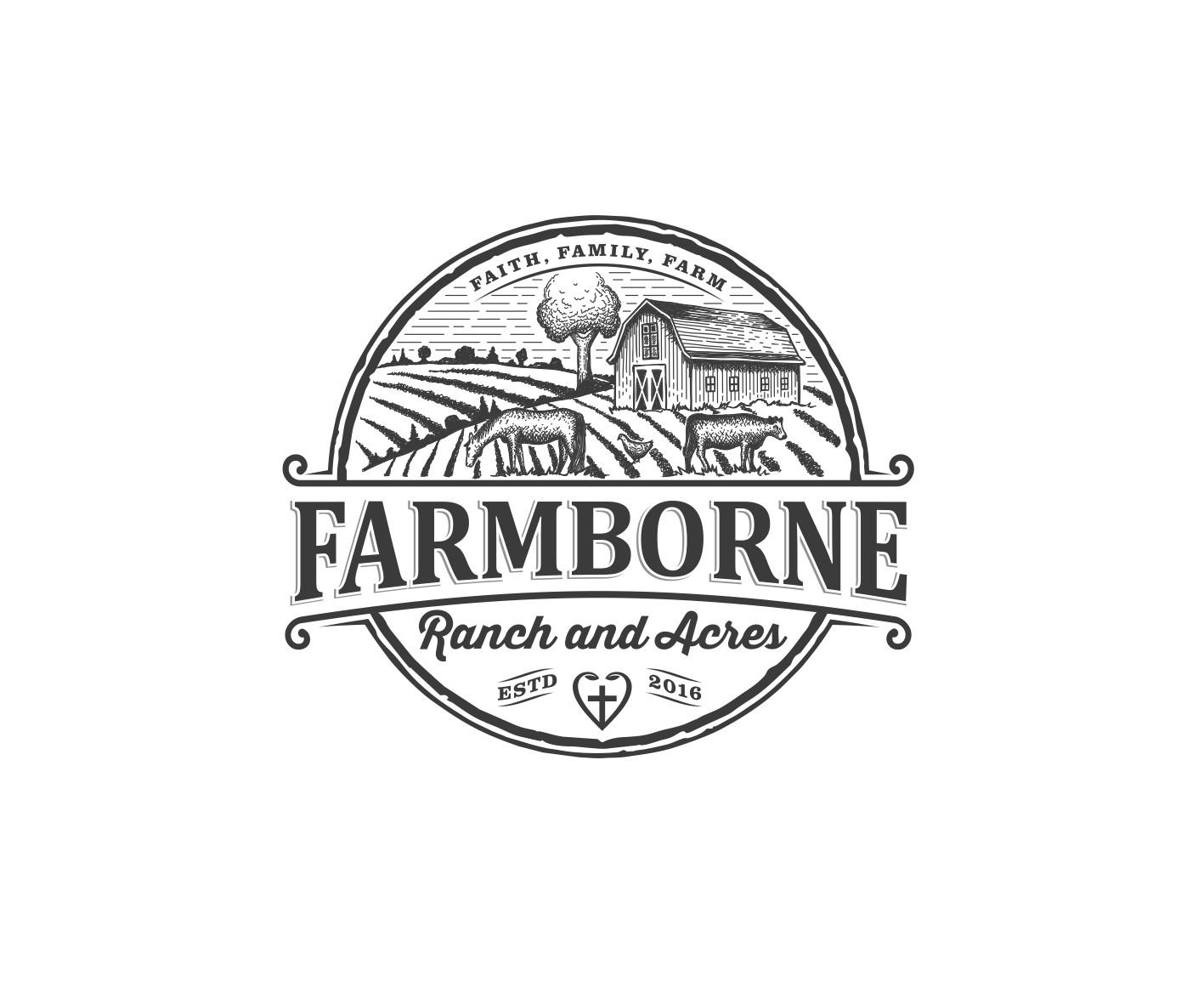 Farmers need you! Niche market farm needs your expert logo