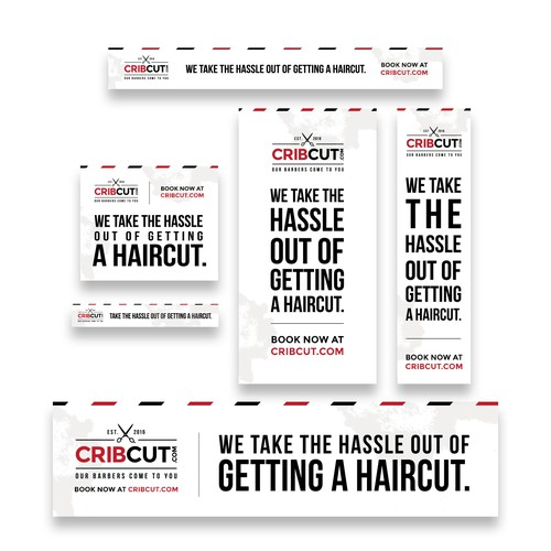 CribCut Adroll Banner Ad Set of 6