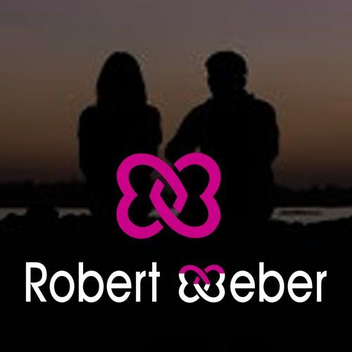 custom logo design for Robert Weber