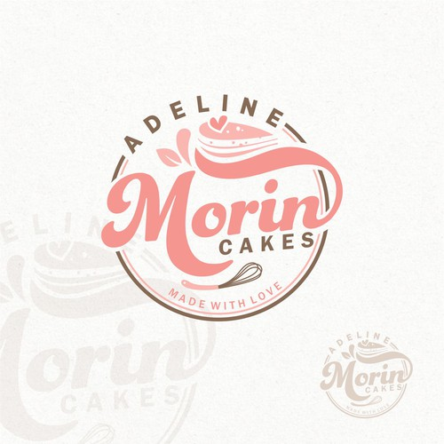 Adeline Morin cakes. Made with love