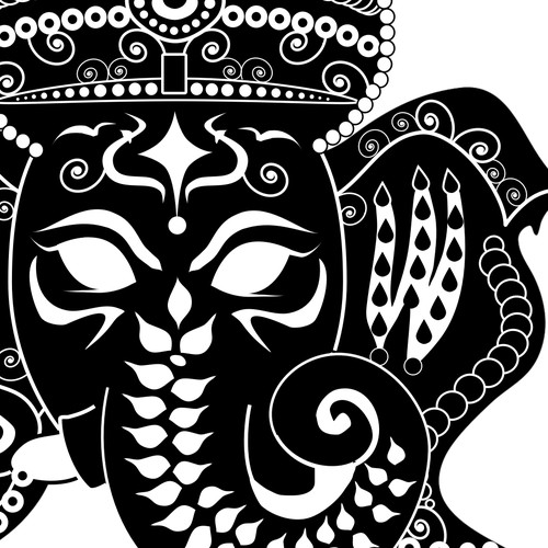 Hindu God T-shirt Design