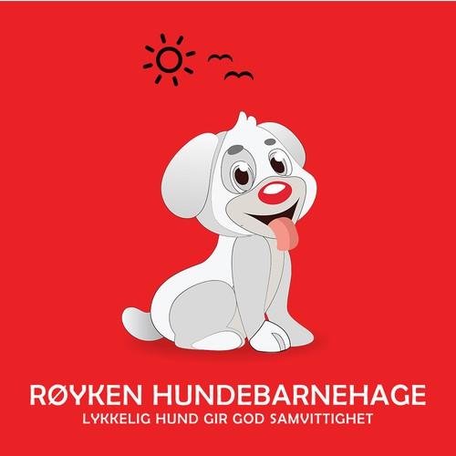 Logo Design of Kindergarden for dogs