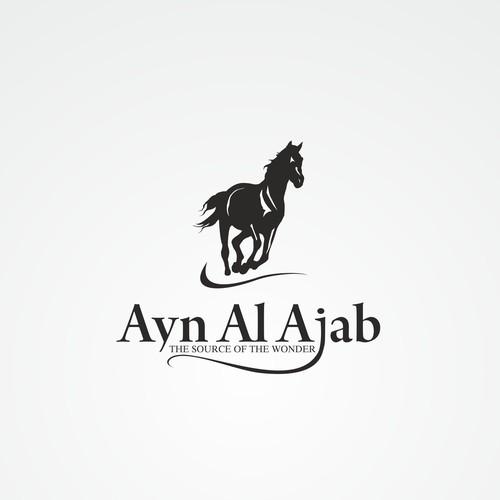 Ayn Al Ajab Arabian Horse Farm Logo