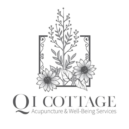Logo for Qi Cottage Acupuncture & Well-Being Services