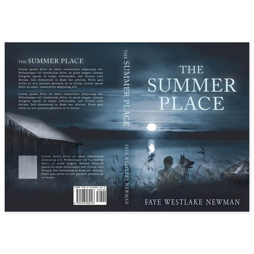 "Book cover for ""The Summer Place"""