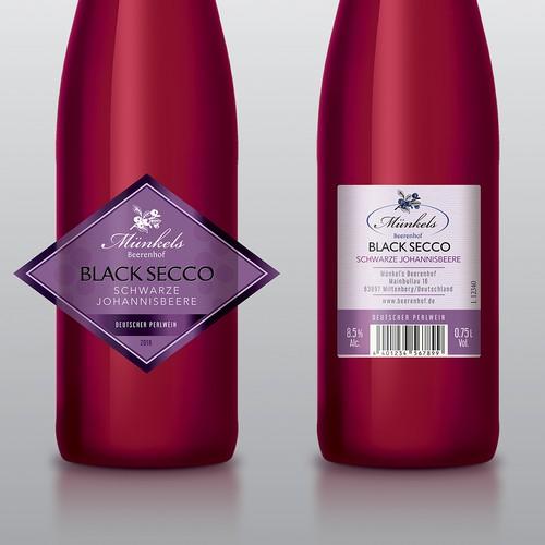 Spritziger Black Secco
