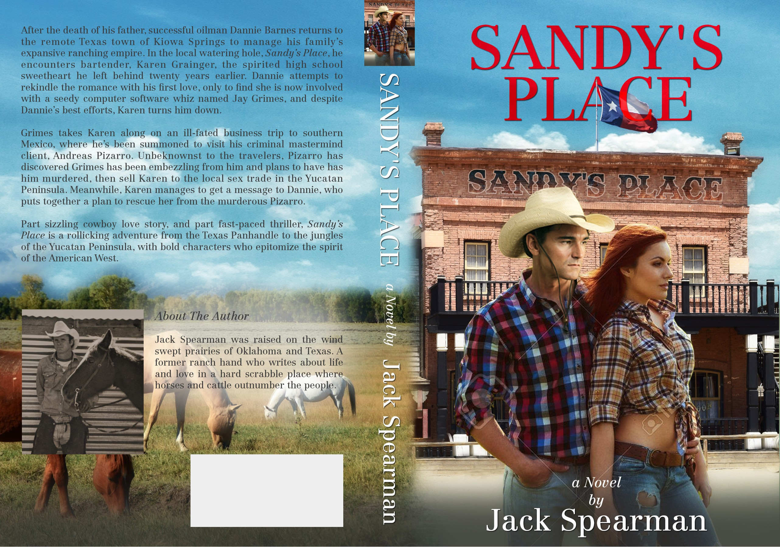 Create book cover for Contemporary Western romance
