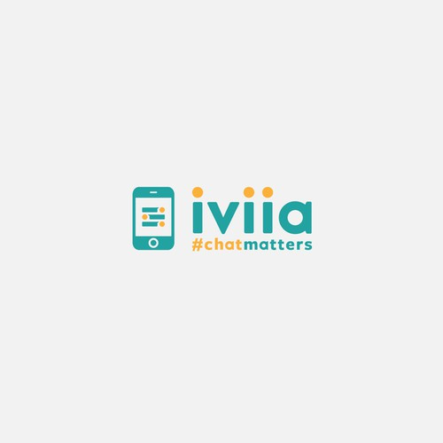 "Logo design for ""iviia"""