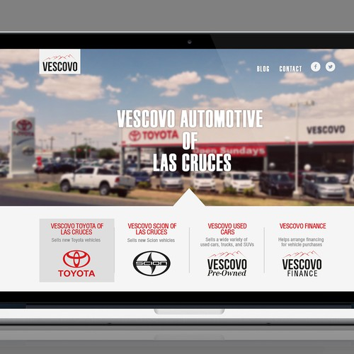 Design Automotive Dealership landing page with potential for other web projects!