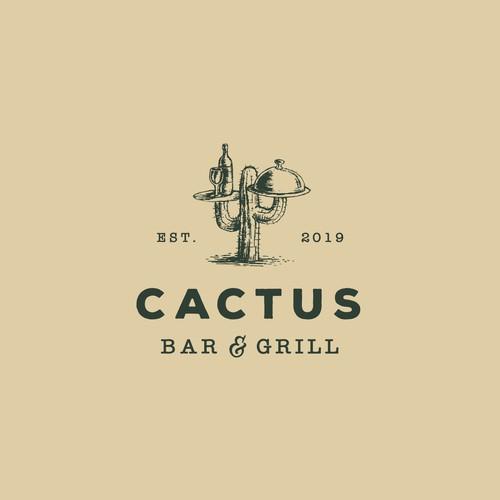 Cactus Bar & Grill Logo