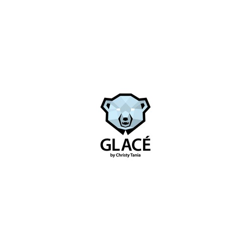 Frozen logo concept for Glace