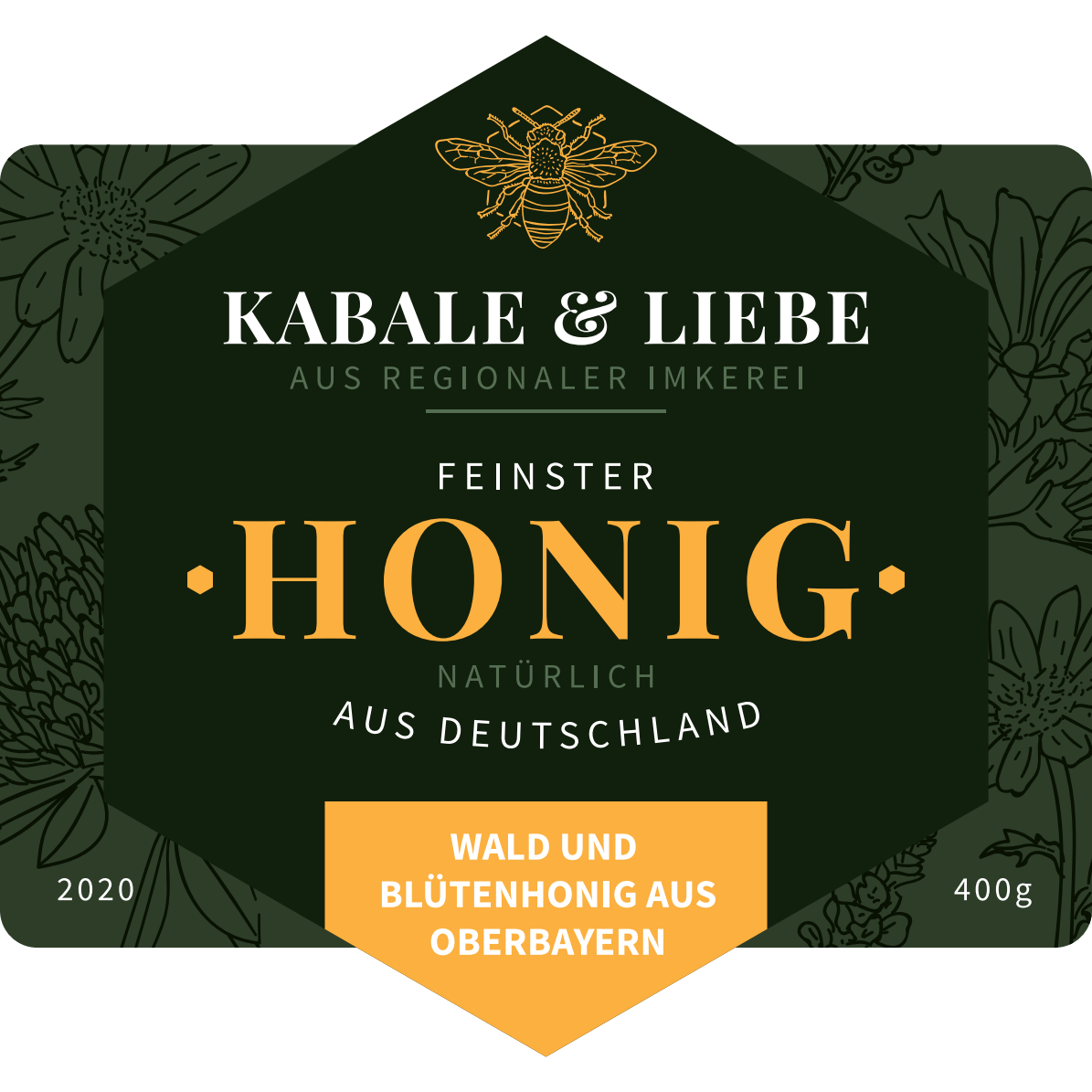Kabale & Liebe - Flower label