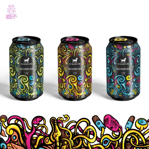 Psychedelic session ale