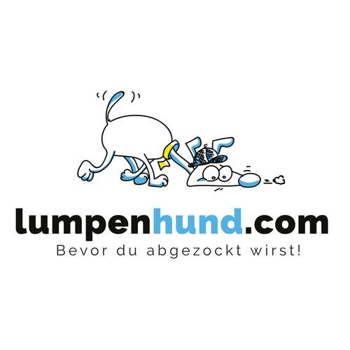 Logokonzept für einen Blog