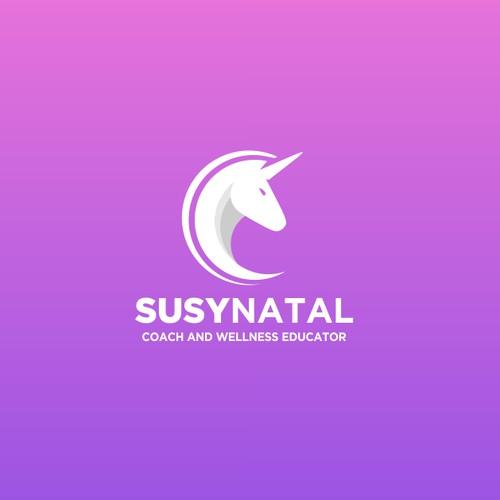 pink unicorn logo