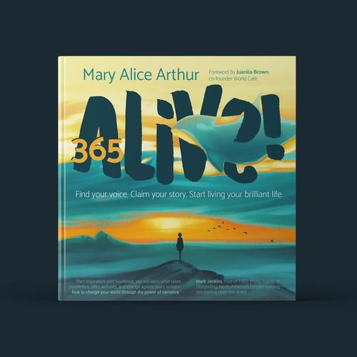 365 Alive Book Cover Concept