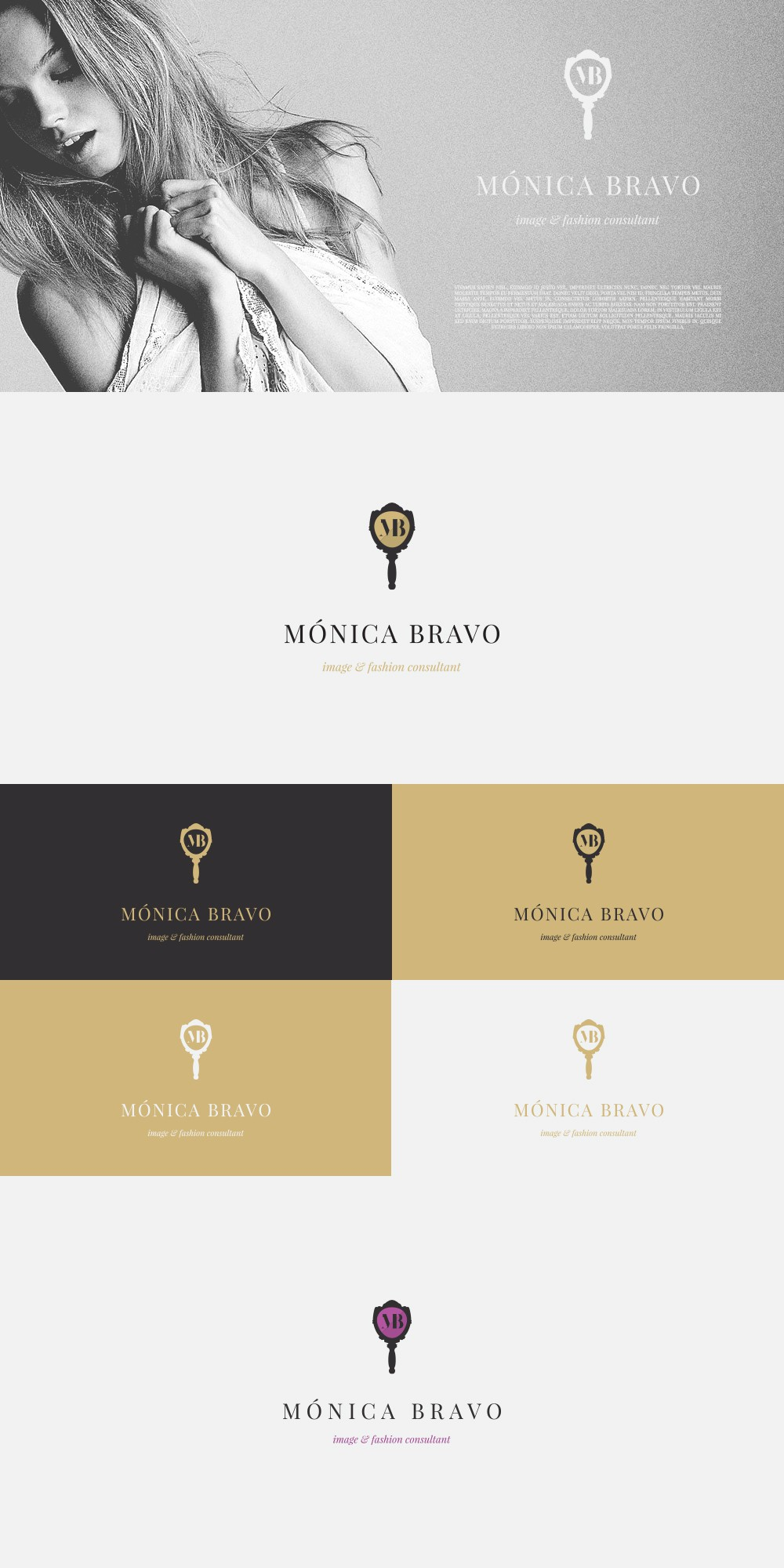 Create the coolest logo for an Image & Fashion Consultant expert Personal Shopper