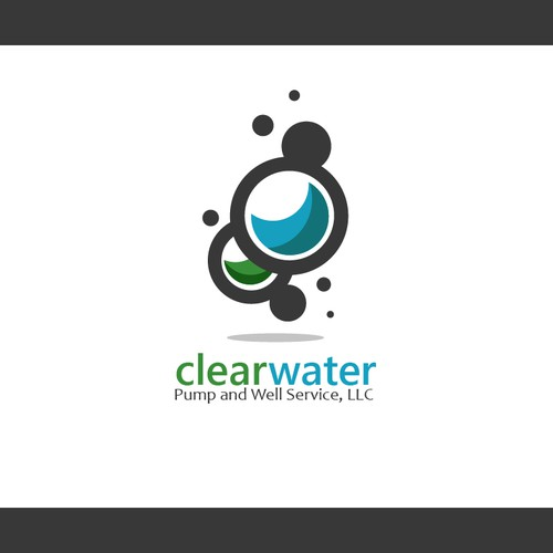 Create the next logo for Clear Water Pump and Well Service, LLC