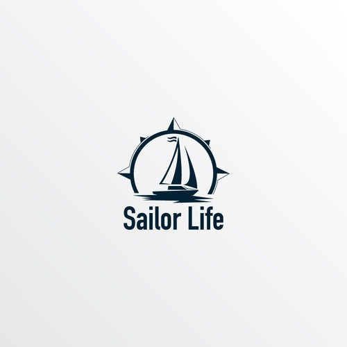 logo for a historic sailing trip