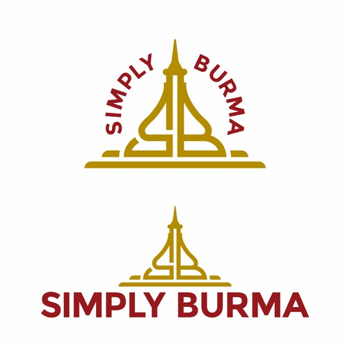 Logo Concept for Simply Burma