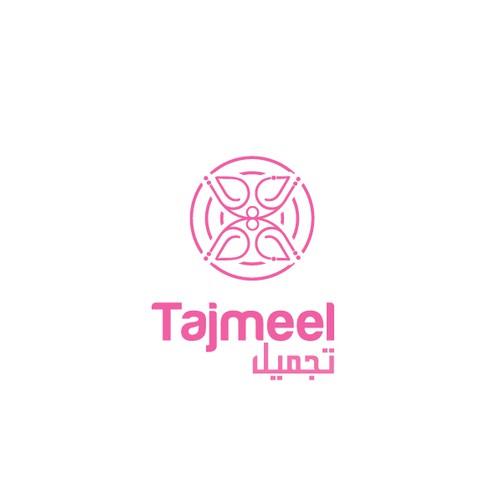 Arabic Line Art design