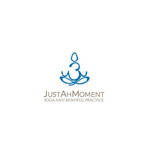 Original logo for meditation place