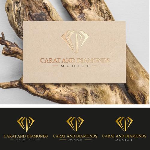 Carat and Diamonds Logo