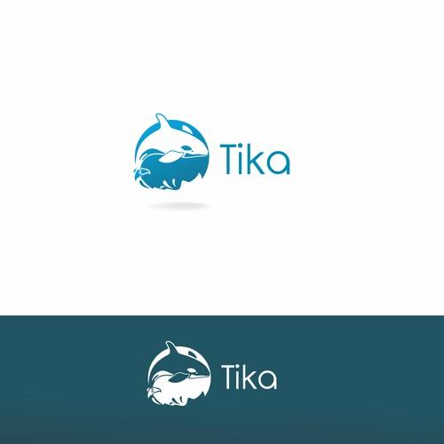 detailed logo for Tika company