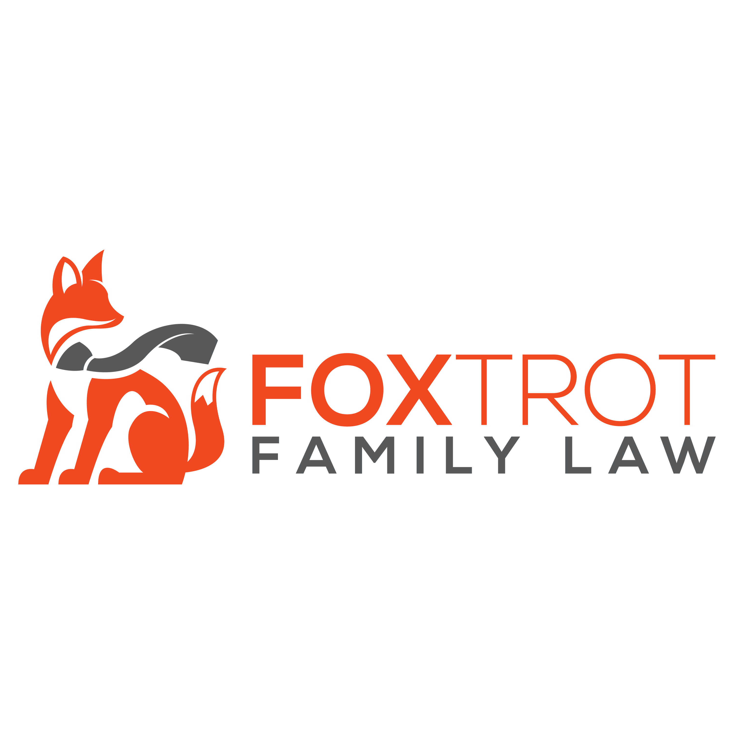 Design clear and fun fox-themed logo for Foxtrot Family Law
