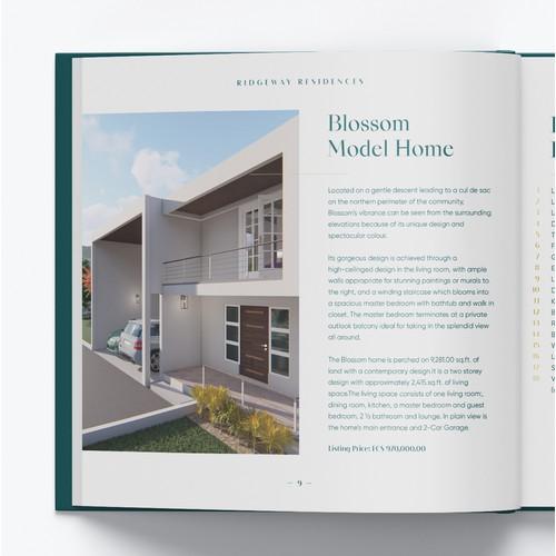 Real Estate - square brochure presentation