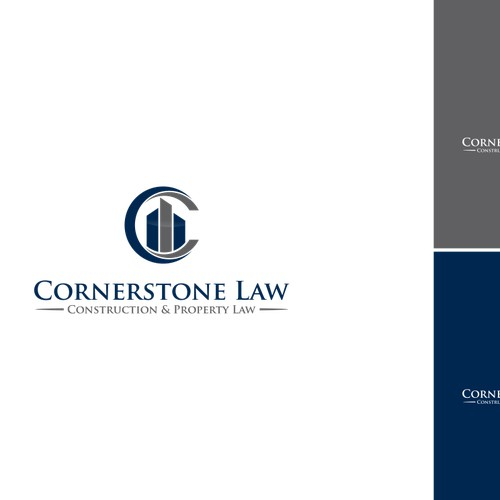 Design a sophisticated and professiona logo for a construction law firm