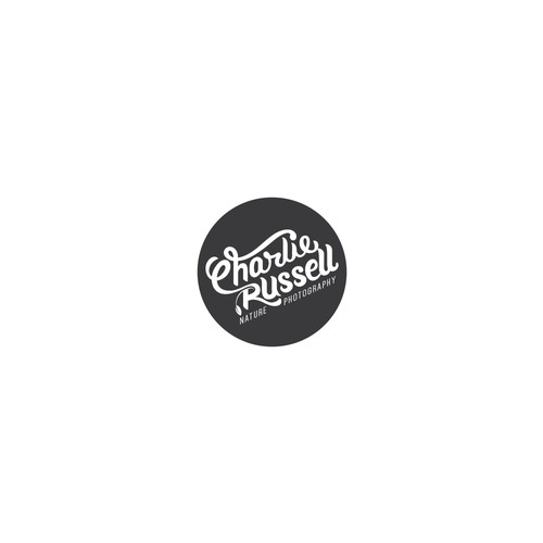 Custom Hand Lettering Typographic Logo.