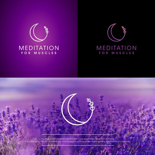 Meditation for muscles logo