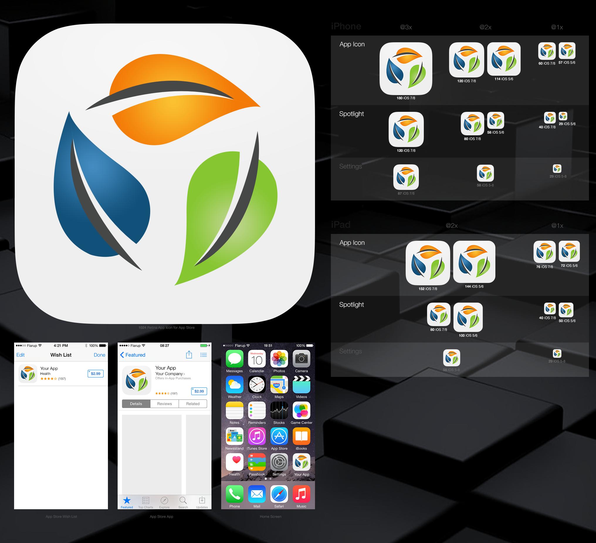 App icon project - Cyder Health