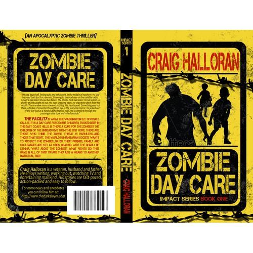 Zombie Book Cover Design - Full Pro Cover