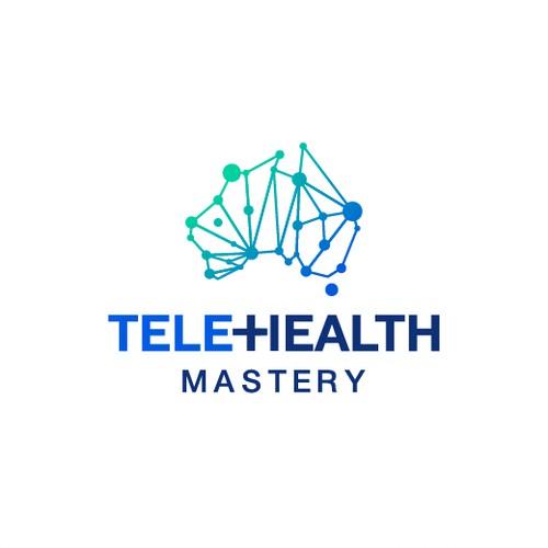 Logo Concept for Telehealth Mastery.