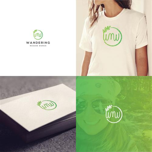 Luxury logo for Wandering Modern Woman