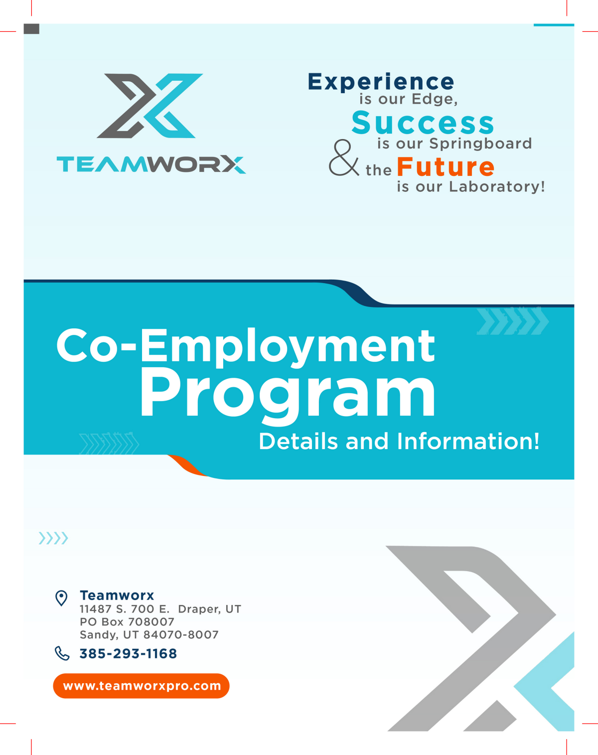 Changes for Teamworx Infographic