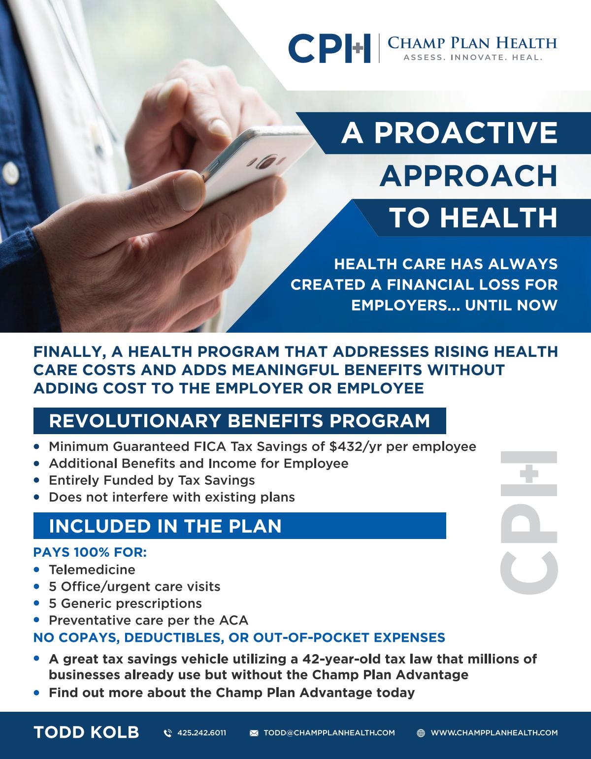 Champ Plan Health Brochure