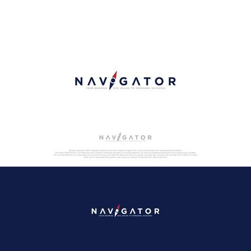 Simple logo for NAVIGATOR