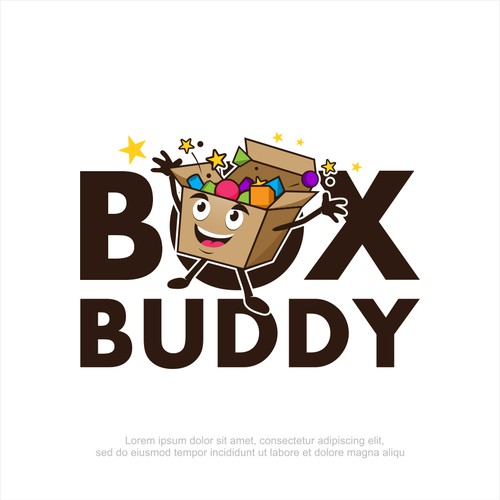BOX BUDDY character